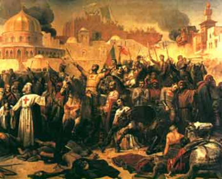 the capture of jerusalem by saladin essay Following nur ad-din's death in 1174, saladin expanded his power in both syria  and mesopotamia in 1187 saladin's armies captured jerusalem two years.